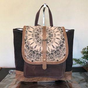 Myra Bag Lace Vintage Backpack